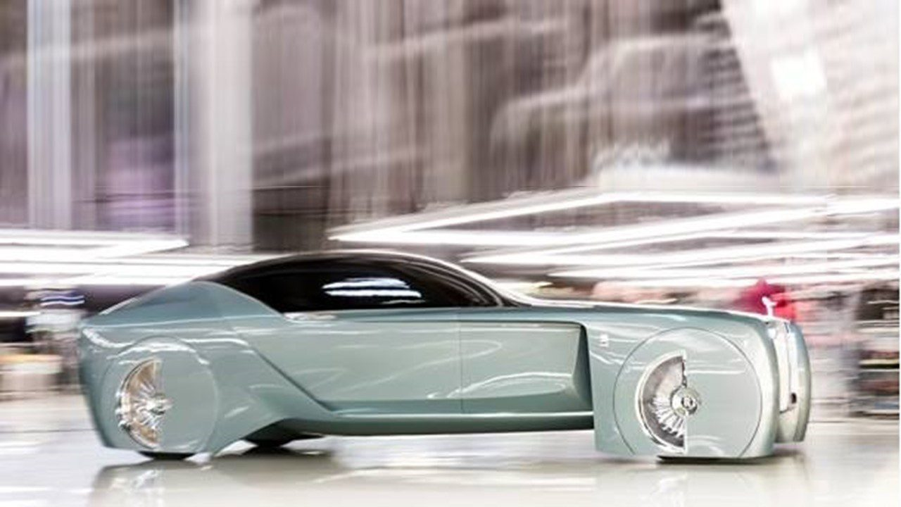 Rolls-Royce Could 3D-Print Bodies of Future Cars : Namic