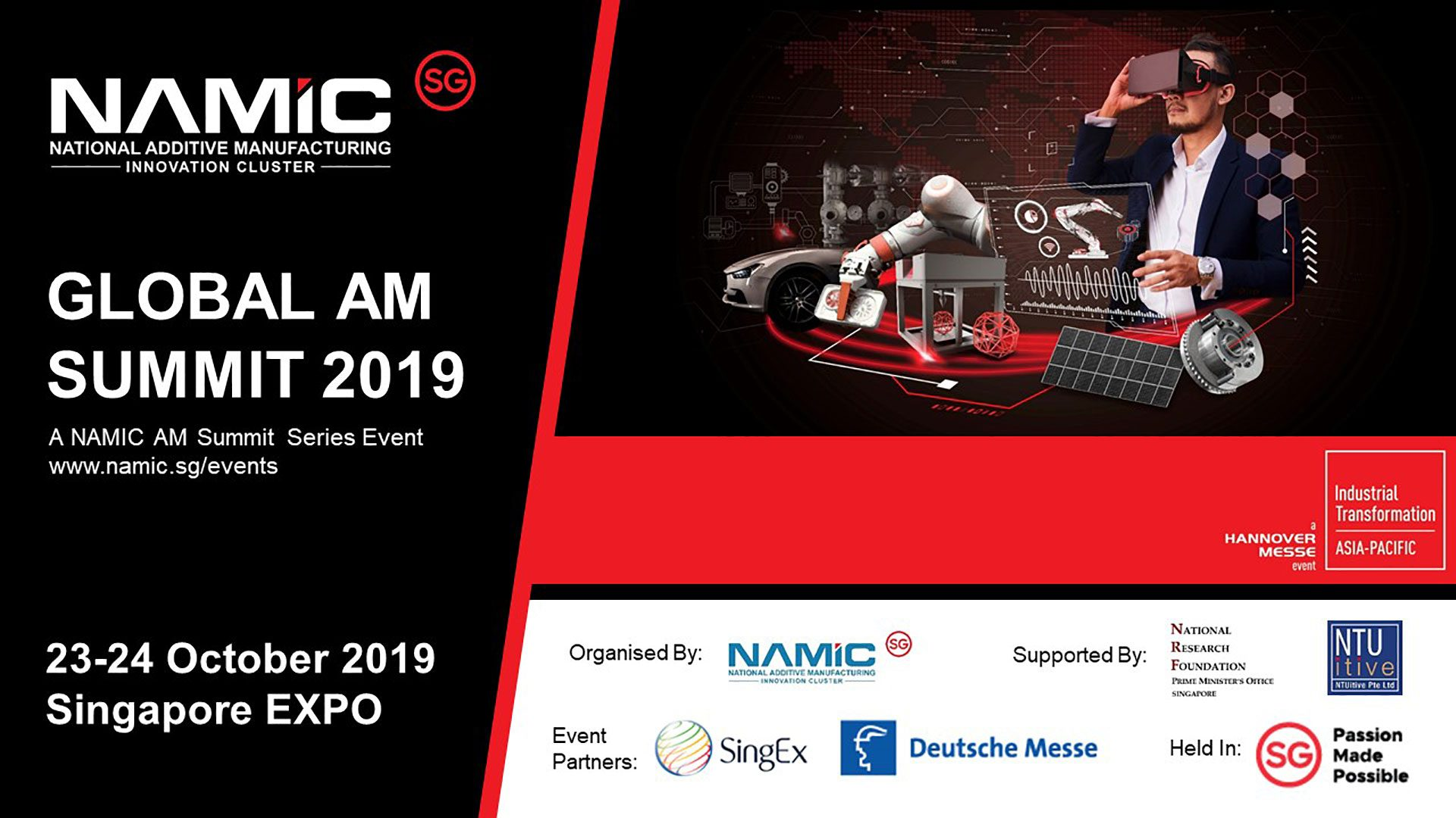 Events : Namic